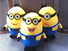 Aimee auto car Bamboo charcoal package air freshener baby toys Despicable Me Dr Nefario Dave Stuart Tim Jerry Kevin(China (Mainland))