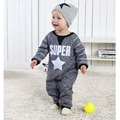 New Born Baby Clothes Cute Spring Roupa Infantil Handsome European Style Baby Rompers Fashion New Born