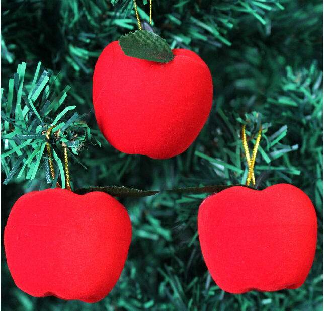 Online buy wholesale christmas tree ornament apples from for Apple tree decoration