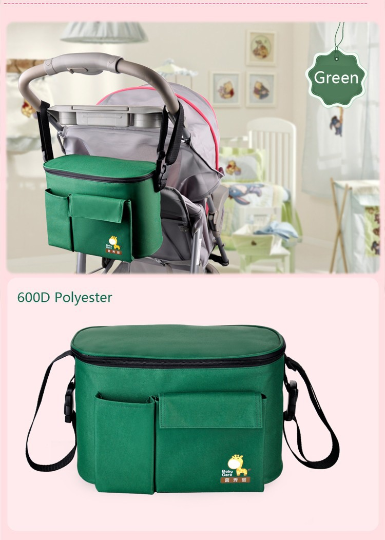 thermal insulation baby mummy stroller bag diaper nappy. Black Bedroom Furniture Sets. Home Design Ideas