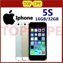 Original Facotry Unlocked Apple iPhone 5S 8MP Camera 4.0 inches Screen 16GB / 32GB / 64GB Cellphones in Sealed Box Free Shipping(China (Mainland))