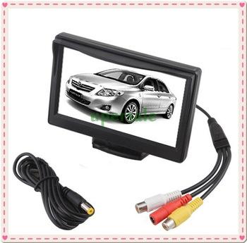 "5"" TFT LCD Car Rear View Monitor Color Screen Reverse Backup Camera DVD/VCD"