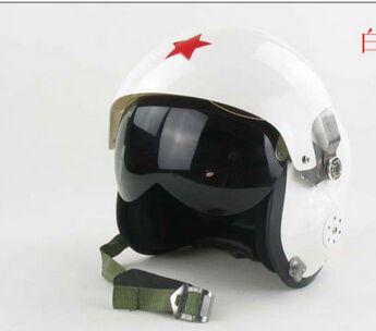 Motorcycle helmet fiberglass GRP army style helmet double layer lens flight helmet Capacete Casco motocicleta(China (Mainland))