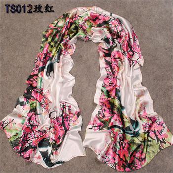 160*50cm 2015 New Fashion multicolour Spring And Summer Women's Long Faux Silk Chiffon Scarf