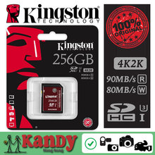 Kingston memory sd card Class 3 UHS-I U3 SDXC HD video 32gb 64gb 128gb 256gb 2K 4K video cartao de memoria tarjeta wholesale lot(China (Mainland))
