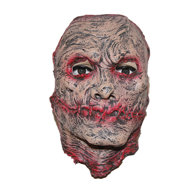 X-MERRY canival realistic Awesome Mask Full Head Rubber latex Horror Mask for halloween day decoration(China (Mainland))