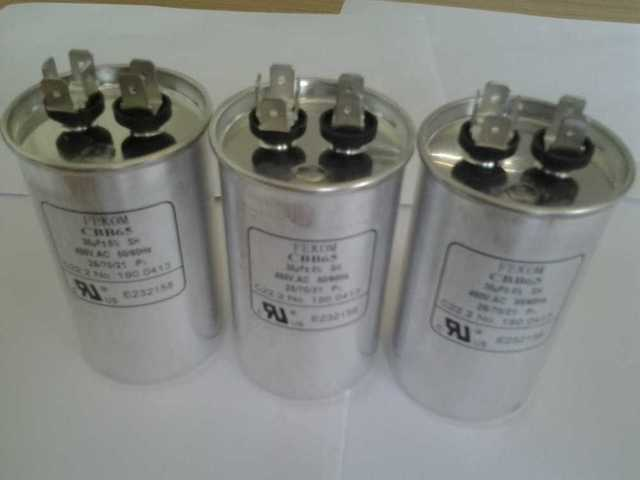 FEKOM CBB65 Start capacitor 25uF 450V