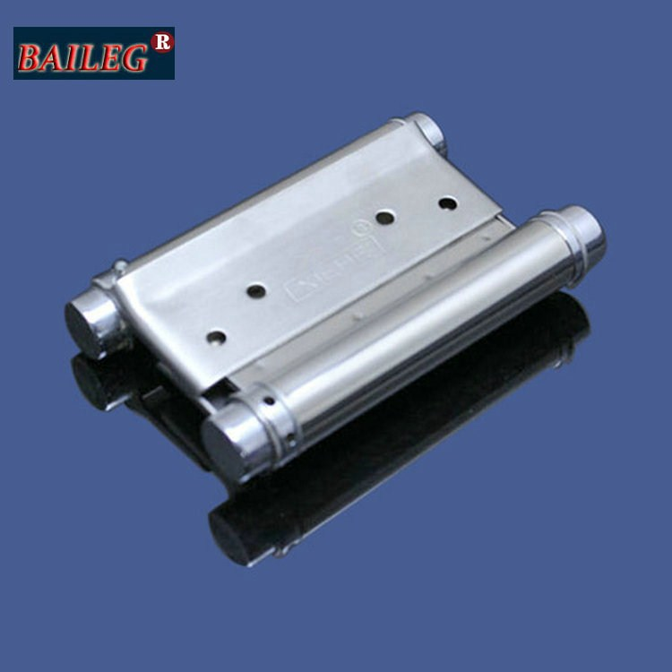 3-inch stainless steel two-way spring hinge hinge freely inside and outside the open door hinge spring hinge pair / 2(China (Mainland))