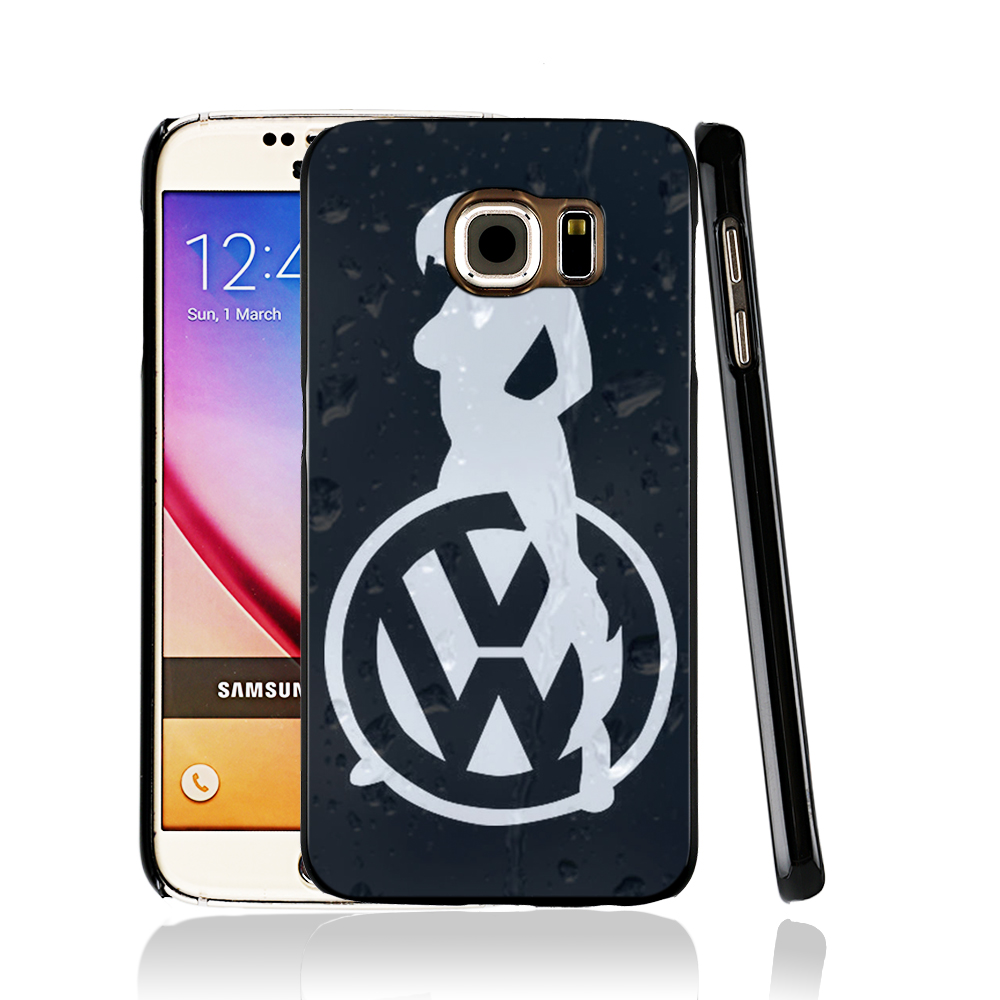 13402 Sexy Girl Logo Car VW Golf cell phone case cover for Samsung Galaxy edge PLUS S7 S6 S5 S4 S3 MINI(China (Mainland))