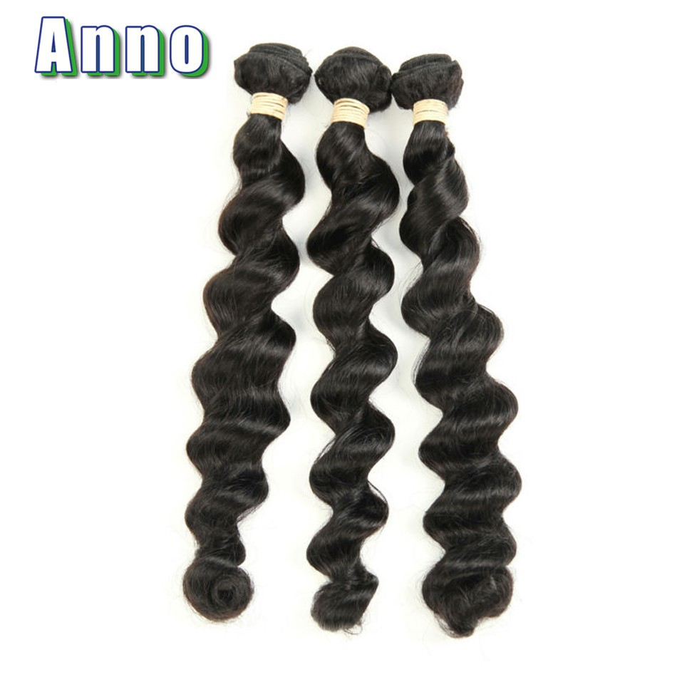 Brazilian Loose Wave Virgin Hair 4pcs/lot 7A Unprocessed Virgin Hair No Shedding Soft Brazilian Virgin Hair Human Hair Extention