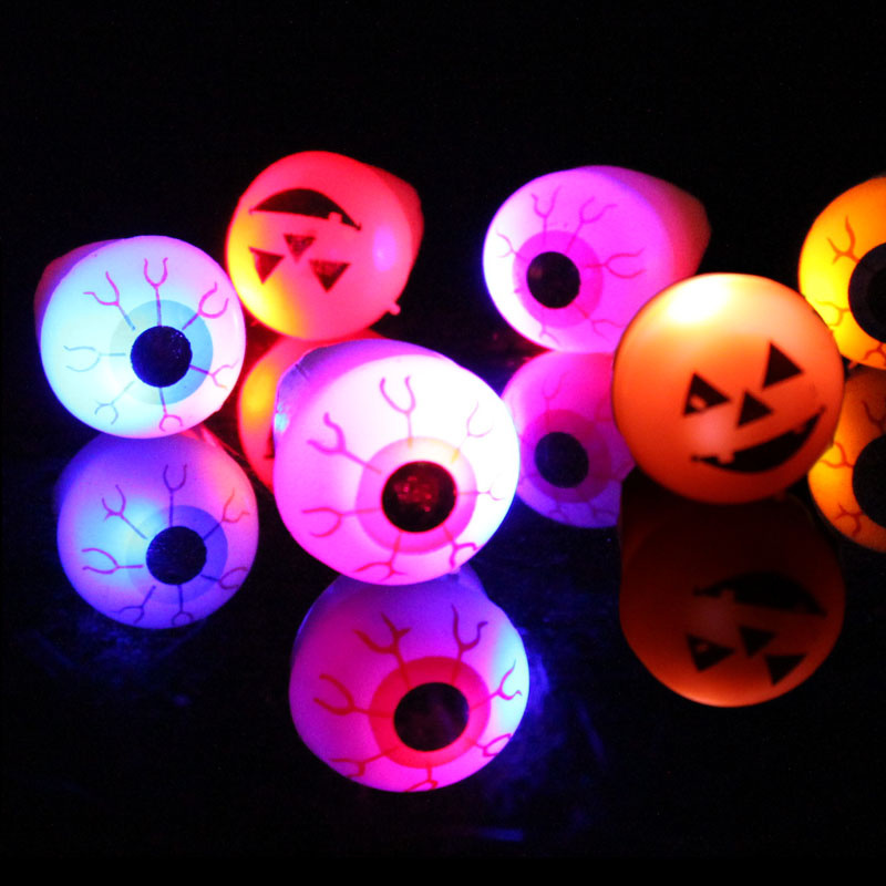 10pcs/lot Christmas/Halloween props soft finger ring flashing ring LED light finger lamps party supplies(China (Mainland))