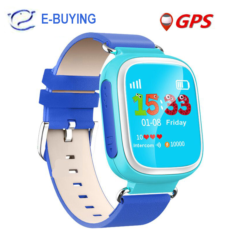 New GPS Q80 Kids Smart Watch Wristwatch SOS Call Location Finder Device Tracker Kid Safe Anti Lost Monitor baby gifts PK q50 Q60(China (Mainland))