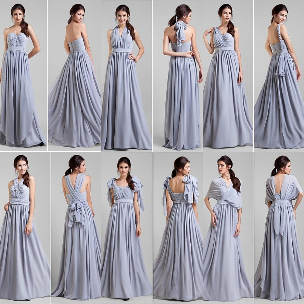 Chiffon convertible bridesmaid dress gown and dress gallery chiffon convertible bridesmaid dress image ombrellifo Image collections