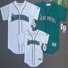 Baseball Jersey Seattle Mariners Baby and Kids Game Jersey(China (Mainland))
