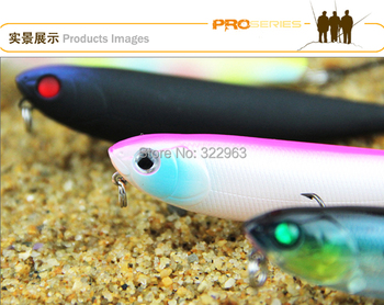 12Pcs/Lot Fishing lure bait fishing tackle  slallow water top water floating hard bait lures minnow pencil lures PRO-8022 T30