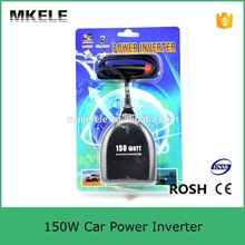 High Quality Cigarette Lighter Power Supply 150W 12V DC To 220V AC Car Power Inverter Adapter with USB Charger Port Drop Shippin(China (Mainland))