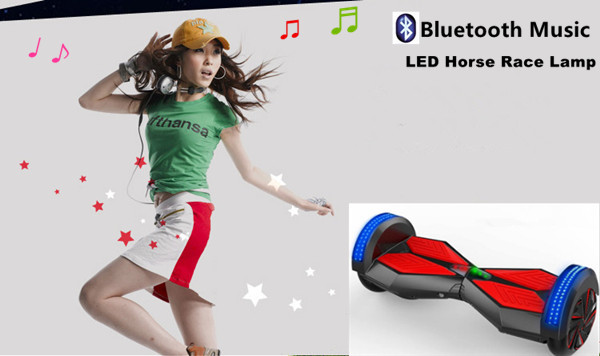 2015 China electric Scooter with bluetooth Music and LED horse race lamp drift scooter factory direct selling.(China (Mainland))