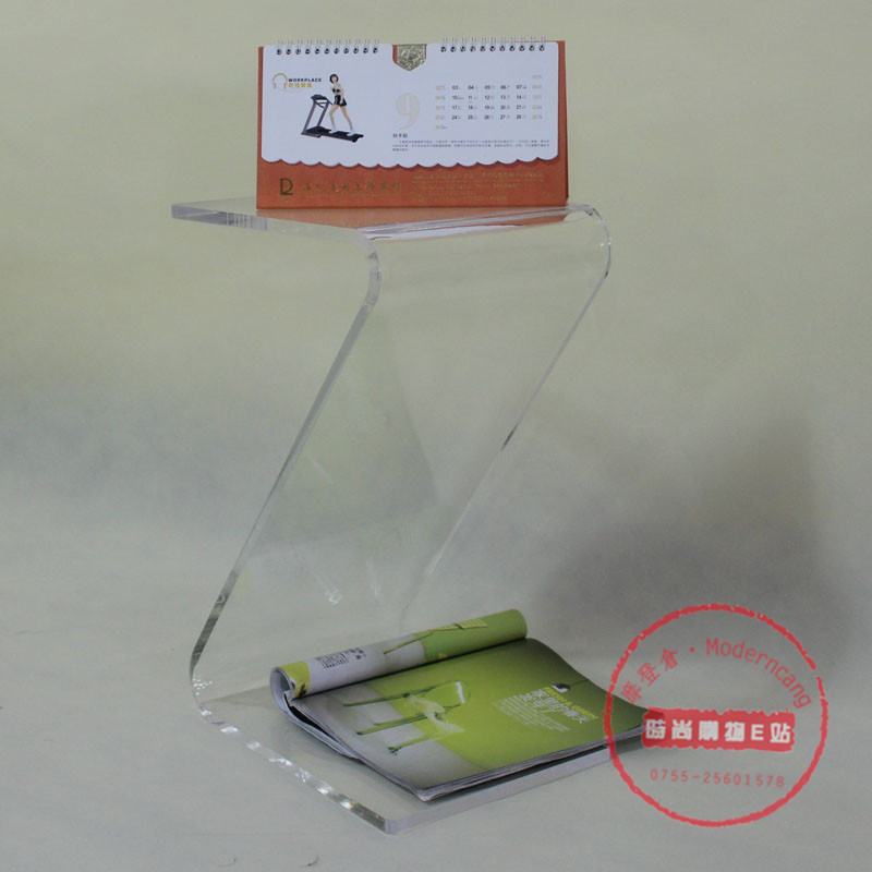 Z- edge minimalist coffee table a few transparent acrylic coffee table beside the bed a few words a few small tables Z(China (Mainland))