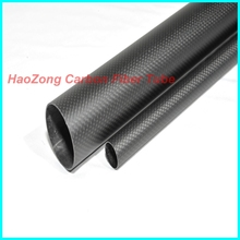 4 Pcs 9*7*500 mm Carbon fiber tube, with 100% full carbon, Japan 3k improve material Quadcopter Hexacopter free shipping 9*7