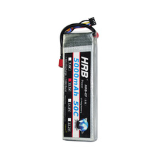 New HRB RC LiPo Battery 11.1V 5000mAh 50C Max 55C 3S Helicopters boats cars Li-Poly Battery Free Shipping(China (Mainland))