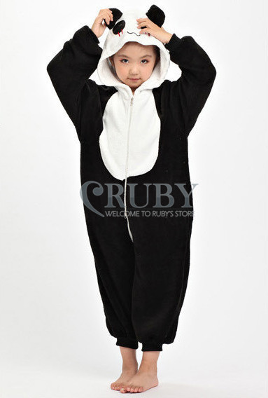 Unisex Children's Costumes Kids Fashion Cosplay Onesies Animal Pajamas Christmas Gift Child Cute Panda Cartoon Pyjamas - RUBY TOP 2 store