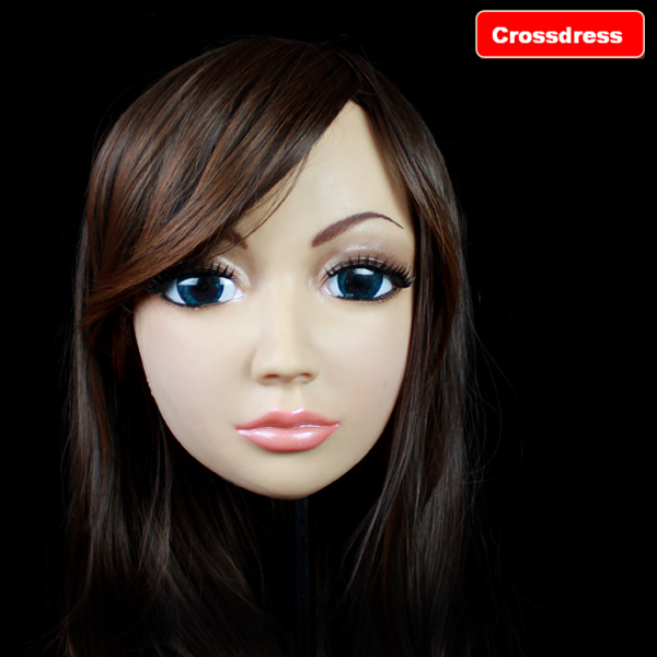 SH-4 silicone masks female real skin full crossdresser realistic - Royal Material Technology Co., Ltd store