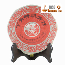 Promotion! 2003yr 357g Organic Yunnan Xiaguan Puer/Pu'er/Puerh Raw Shen Tea Cake Lose Weight tea Free Shipping/1098 Wholesale