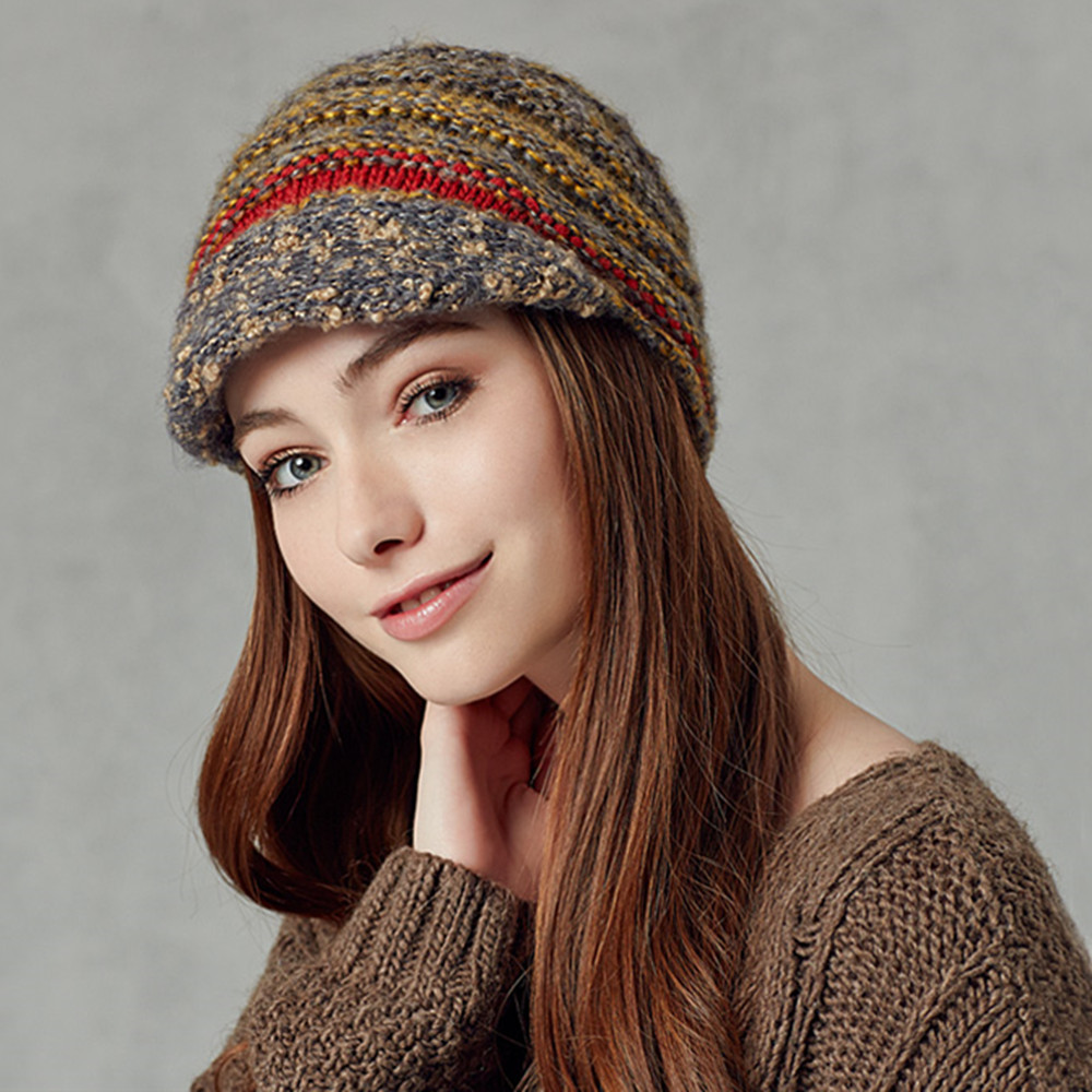 Knitting Beret Hat Picture