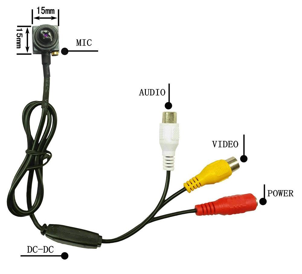 Bargain upset CCTV Surveillance Cameras MiNi CCTV Camera Screw Security Camera CMOS 600TVL MiNi CAMERA Free Shipping(China (Mainland))