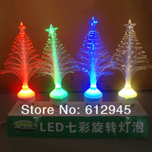 Christmas LED  fiber optic night light lights Seven colors changed automaticly(China (Mainland))
