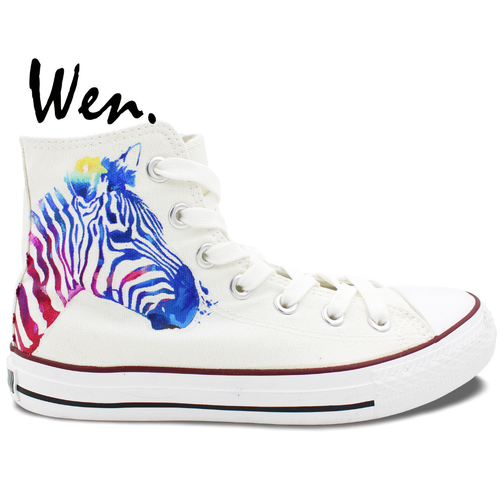 zebra converse all sneakers boys design painted