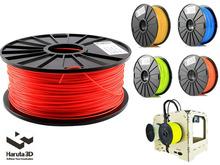 New Arrival Fluorenscence Red 3d printer filament PLA ABS 1.75mm 3mm 1kg/spool Colorful Option for Makerbot/Reprap/Mendal