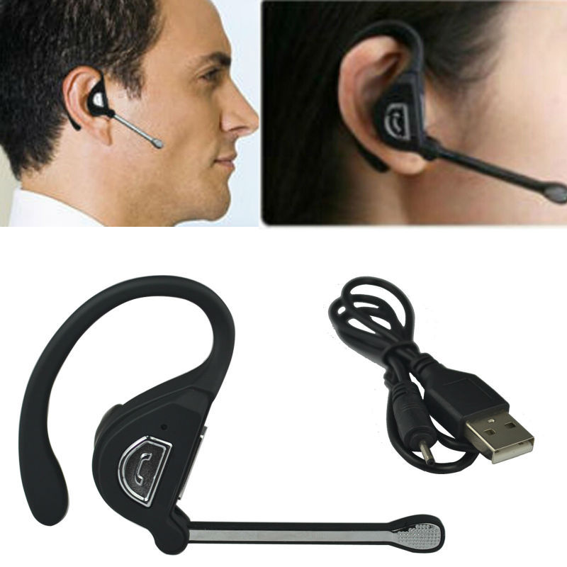 New Cool Stylish Wireless Bluetooth v2.1 Headset Earphone with Microphone for Bluetooth enabled Cell phone Smart phone PC Laptop(China (Mainland))