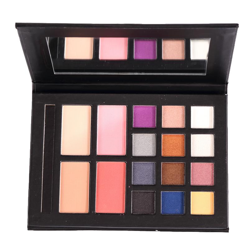 Miss doozy Makeup Magnetic Palette Eyeshadow Pallette Mica Powder Brush Blush Para Glitter Gift Cosmetic Make up Set Shadow kit
