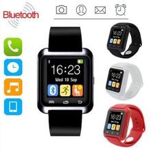 U80 שעון חכם Bluetooth SmartWatch פרק כף היד לסמסונג pk Huawei Xiaomi טלפון חכם טלפון אנדרואיד IOS Iphone u8 dz09 smartwatch