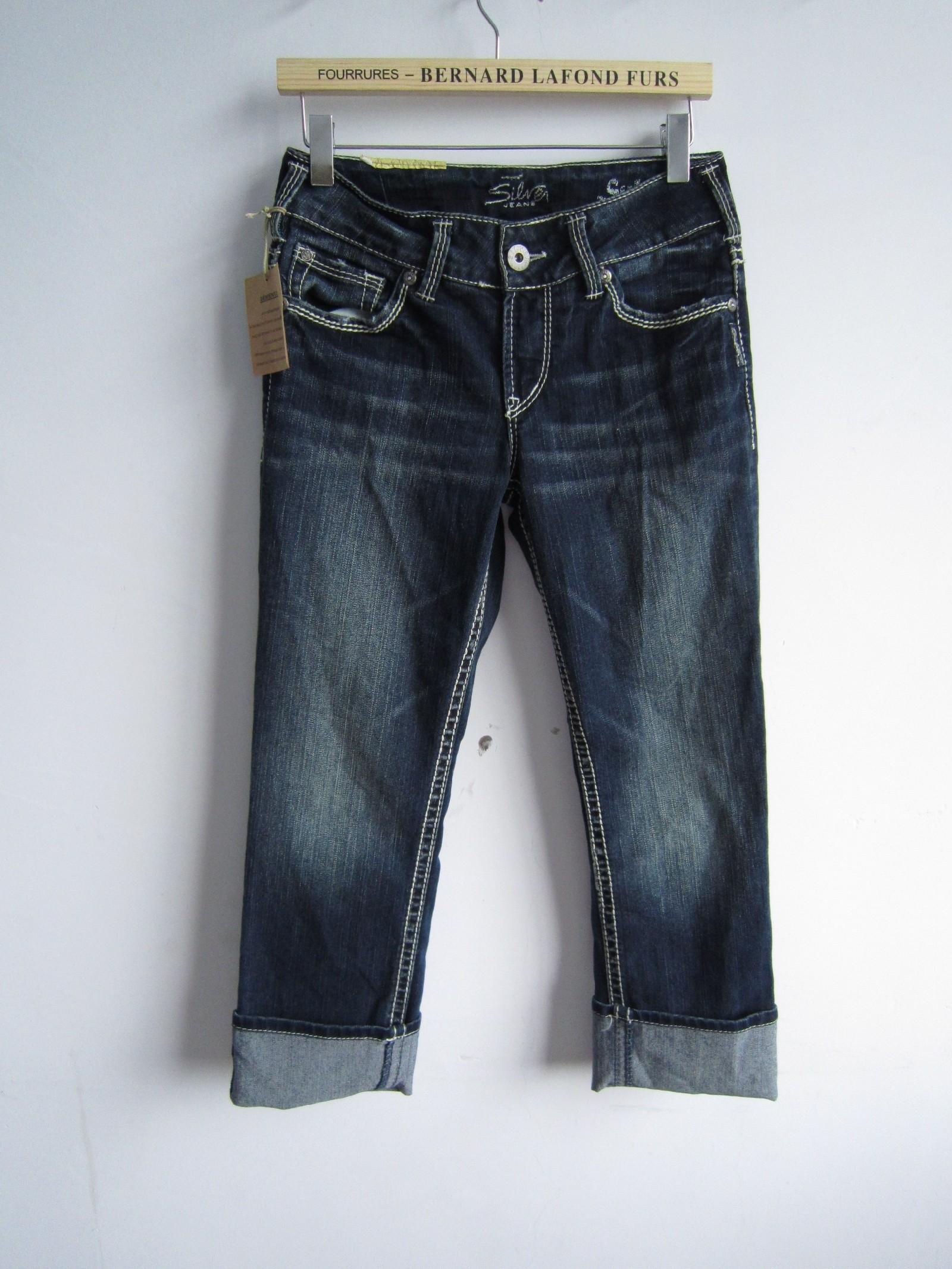 silver jeans suki capri - Jean Yu Beauty