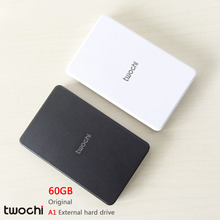 "Free shipping New Styles TWOCHI A1 Original 2.5"" External Hard Drive 60GB  Portable HDD Storage Disk Plug and Play On Sale"