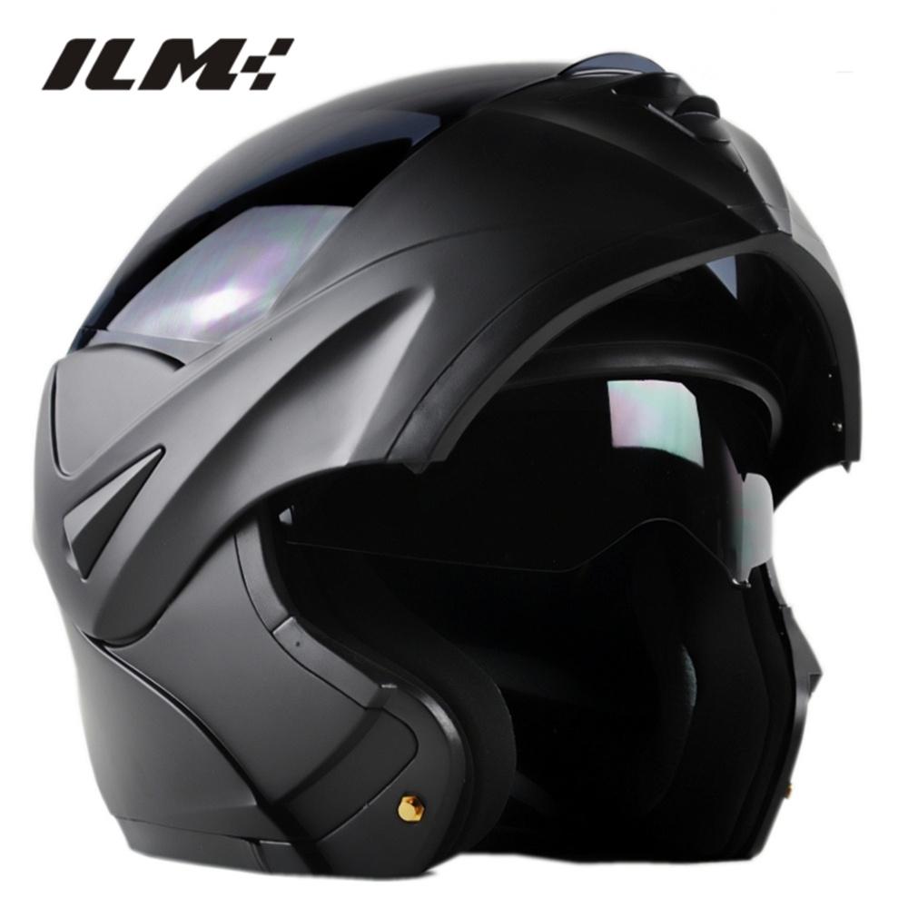 DOT Approved Motorcycle Helmet with Inner Sun Visor Flip Up Safety Double Lens Dual Visor Racing Motocross Quad Dirt Bike Helmet(China (Mainland))
