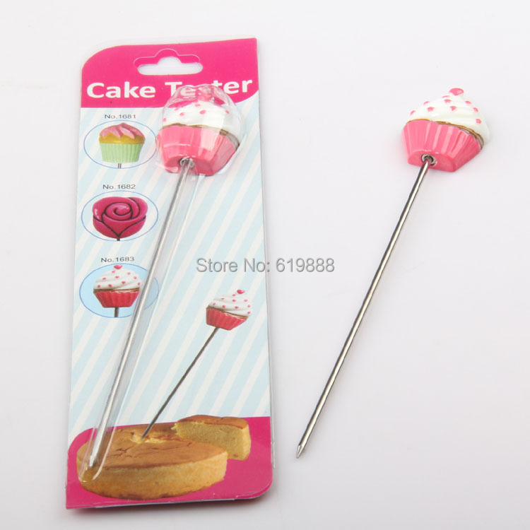 Cake Testing Needle Stirring Rod Long Pin 14cm Bread Probe Stainless Steel Baking Tools(China (Mainland))