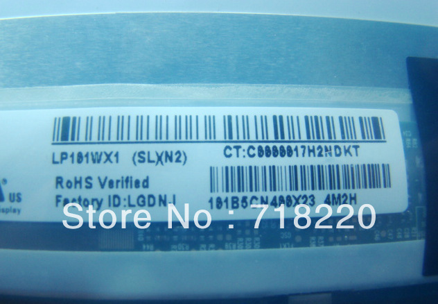 Free shipping  A+ LP101WX1-SLN2 LP101WX1 SLN2  for lenovo Y1011 Tablet LCD display screen