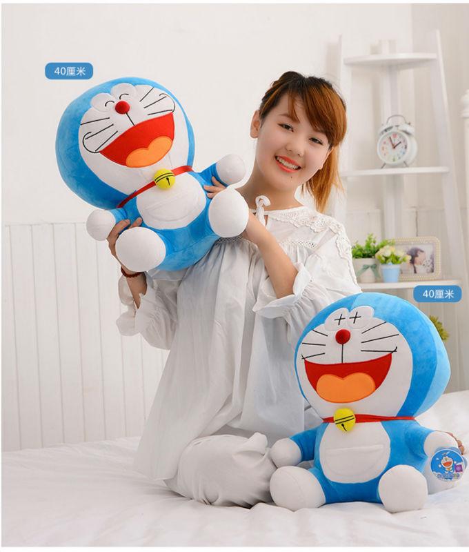 free shipping 25cm Stand By Me Doraemon Plush toy doll Cat Kids Gift Baby Toy Kawaii plush Anime Plush(China (Mainland))