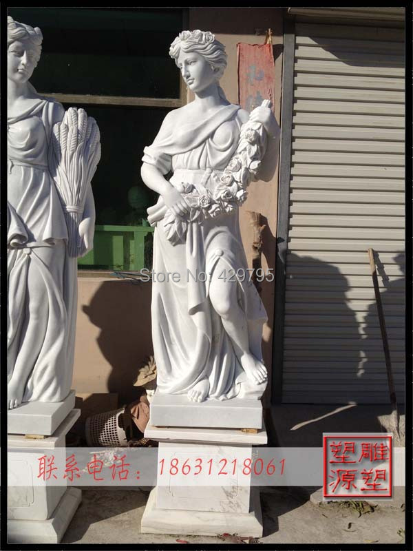 marble western character statue courtyard decoration European manmade goddess sculpture factorysupply freeshipping - chunjing cao's store