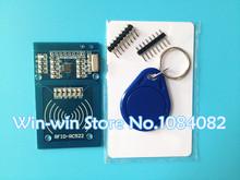 1pcs/lot MFRC-522 RC522 RFID RF IC card sensor module to send Fudan card,Rf module keychain for arduino(China (Mainland))