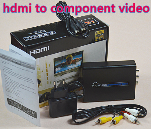 Mini RCA AV to HDMI Converter Adapter Composite audio video free shipping(China (Mainland))
