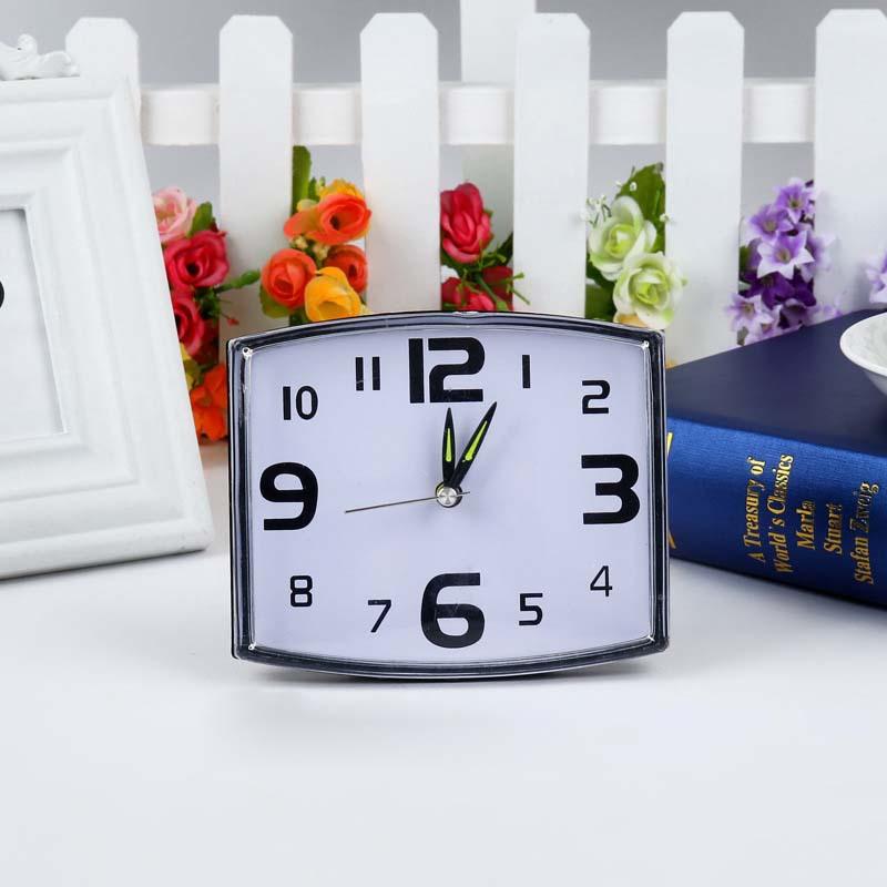 Plastic alarm automobile clocks despertador digital watch electronic desk home decor klok masa saatial fajr clock square quartz(China (Mainland))