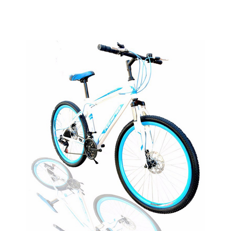 2016 Lowest Pirce Brand Quality 21 Speed Bicileta Mountain Bike 26 inch Double Disc Brake MTB Bicycle 150kg Max loading Blue Red(China (Mainland))