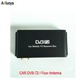 Aoluoya Newest 4 Tuner Car DVB T2 Tuner Digital Car Tv Tuner MPEG4 Car mobile digital