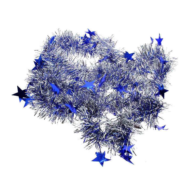 2m Christmas Tree Hanging Decoration Home Party Long Star Pine Garland Ornaments