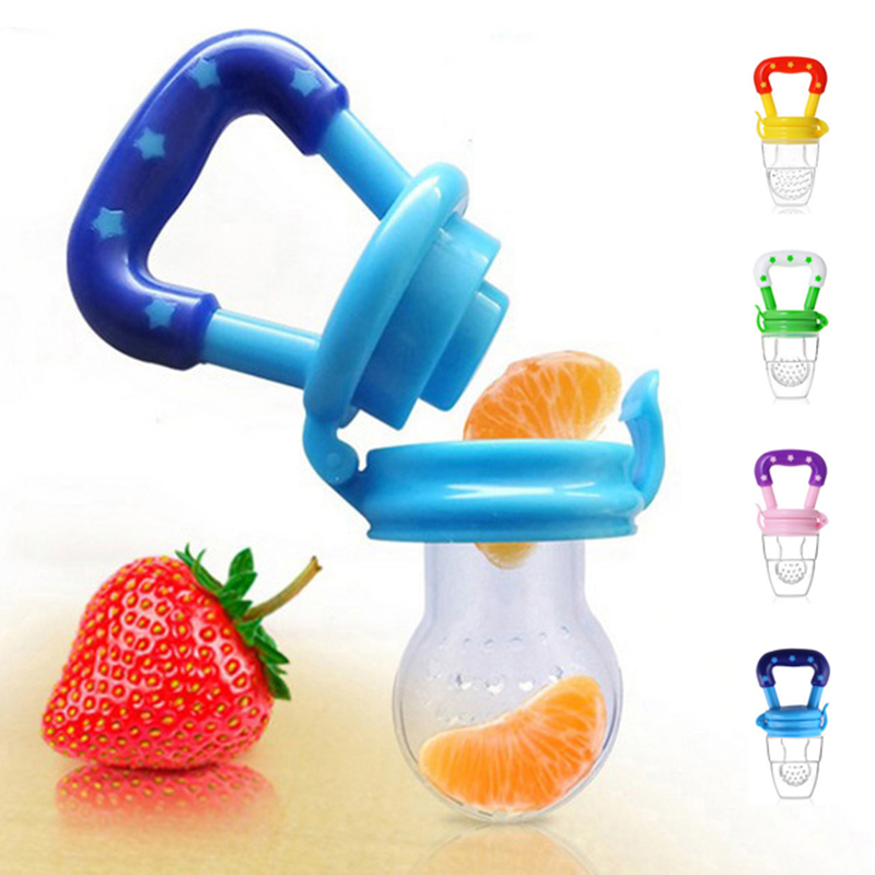 Pacifiers Fresh Food Milk Nibbler For Babies Bebe Feeding Tool Safe Newborn Baby Bottle Feeding Nipple 3 Size Available