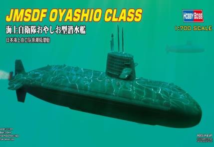 hobby toys 1/700 scale Japanese JMSDF Oyashio-class submarine Navy Ship Model kit best gift(China (Mainland))